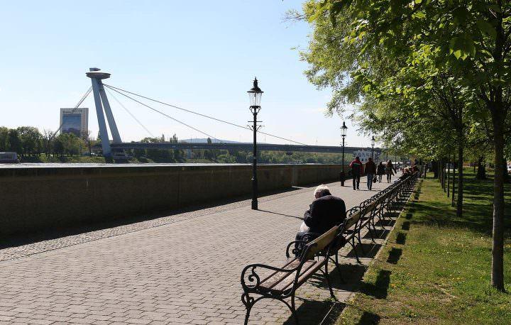 Bratislava Uferpromenade