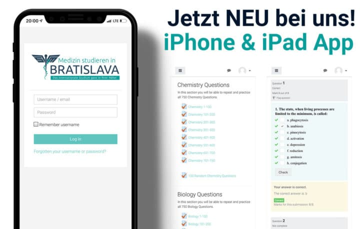 E-Learning App zum Medizinstudium in Bratislava