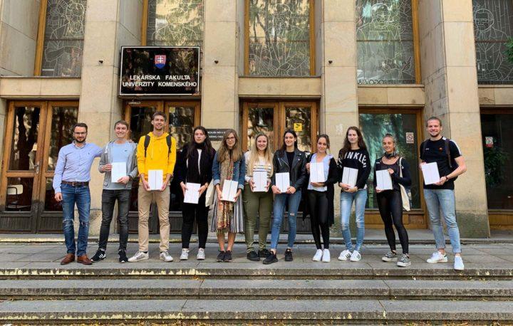 Comenius Universität Bratislava - TOP 10