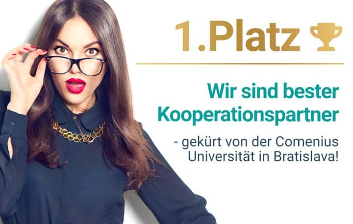 Wir sind der beste Kooperationspartner für die Vermittlung von Studienplätzen zum Medizinstudium in Bratislava.