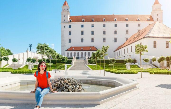 Die Burg in Bratislava