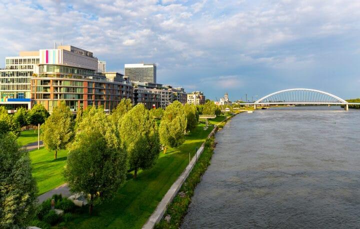 Eurovea in Bratislava