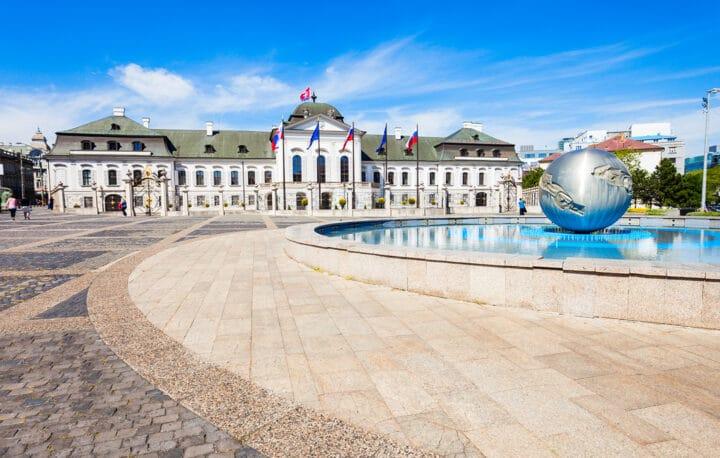 Präsidentenpalast in Bratislava